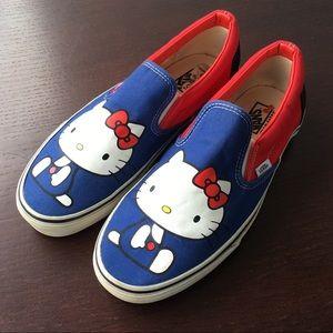Vans x Hello Kitty slip on Sneaker shoes